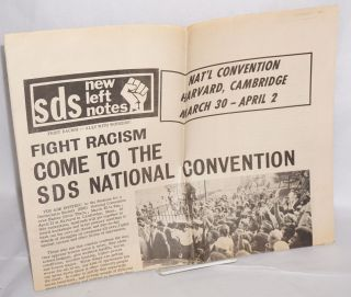 SDS new left notes [1972 promo issue]. Students for a. Democratic Society