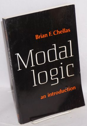 Modal logic, an introduction. Brian F. Chellas