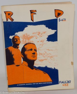 RFD: a country journal for gay men everywhere; #52, Fall 1987 [vol. 14, #1