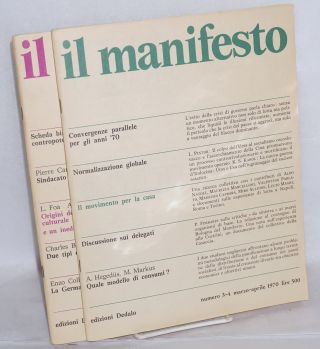 Il Manifesto [two issues