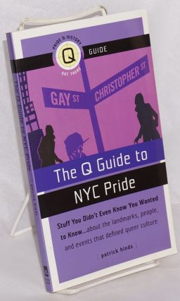 The Q guide to NYC Pride. Patrick Hinds