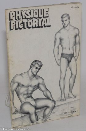 Physique Pictorial vol. 13, #1, August 1963. Bob Mizer, Tom of Finland photographer, Steve...