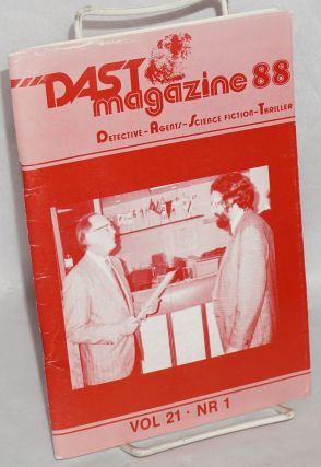 DAST magazine: Detective - Agents - Science fiction - Thriller. Vol. 21 no. 1