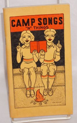 Camp Songs 'n Things. Fifth printing. Wes H. Klusmann, Carl E. Zander