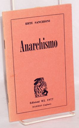 Anarchismo. Erte Sanchioni