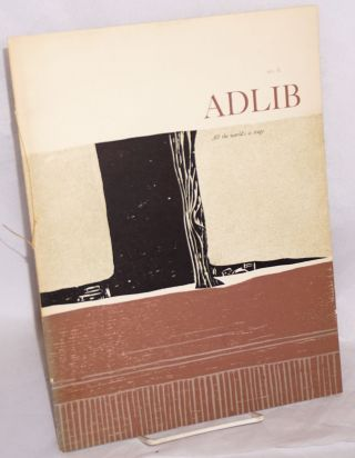 ADLIB no. 6: All the World's a Stage. William Shakespeare, Joan Mary Bassaro, James McMullan,...