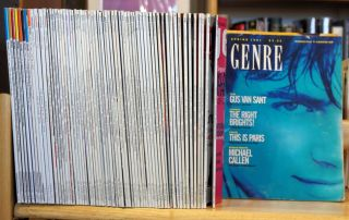 Genre [80 issue broken run beginning with #1 and ending with #136]. Richard Settles, Chris Ciompi