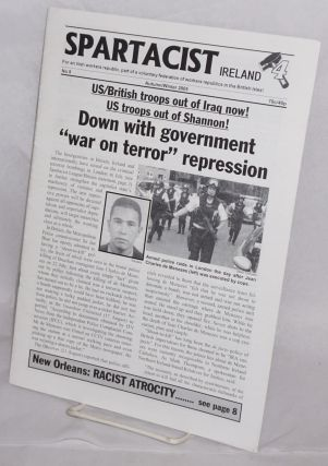 Spartacist Ireland. No. 8 (Autumn/Winter 2005