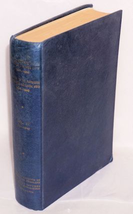 Documents on the Portuguese in Mozambique and Central Africa, 1497-1840 / Documentos sobre os Portugueses em Mocambique e na Africa central 1497-1840. Vol III (1511-1514) [with] Vol V (1517-1518) [two odd volumes from a broken set]