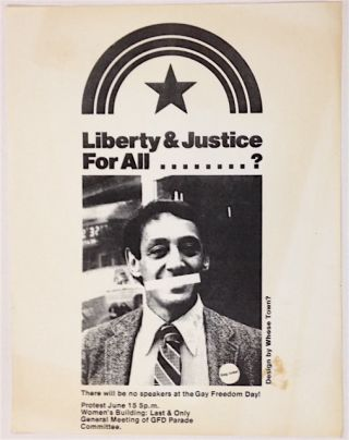 Liberty & Justice for All....? [handbill