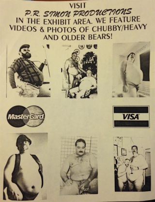 Visit P.R. Simon Productions in the exhibit area. We feature videos & photos of chubby / heavy...