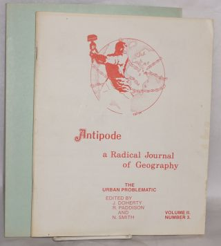 Antipode: a radical journal of geography [vol. 2, nos. 2 and 3]