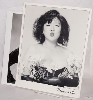 Two photos of Margaret Cho. Margaret Cho
