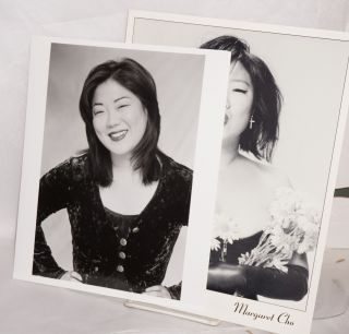 Two photos of Margaret Cho