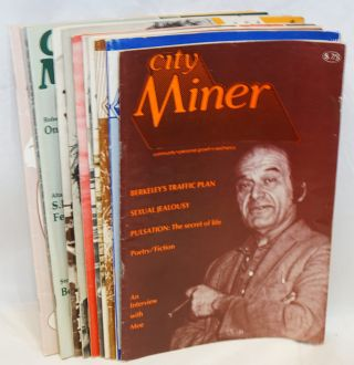 City Miner Magazine: community, personal growth, aesthetics [broken run of 11 issues]. Michael...