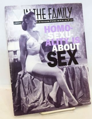 In the Family: a magazine for lesbians, gays, bisexuals and their relations vol. 2, #2, October...