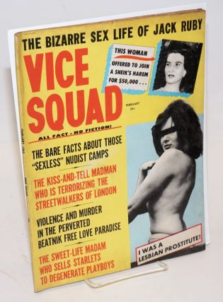 Vice Squad: all fact - no fiction! vol. 4, #6, February 1965