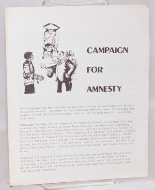 Campaign for Amnesty
