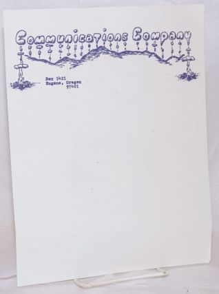 Communications Company [letterhead