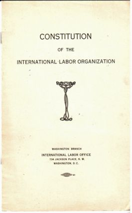 Constitution of the International Labor Organization