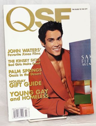 QSF Magazine: the guide to the City; vol. 7, #44, November 2002; John Waters' Favorite Xmas...