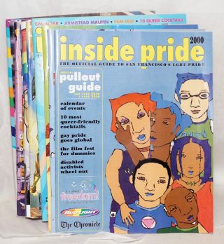 Inside Pride: the official guide to San Francisco LGBT Pride [sixteen issue broken run
