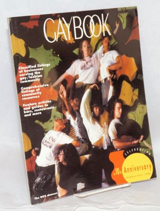 Gaybook Magazine: book 10 tenth edition, Summer/Fall 1990: 10th anniversary