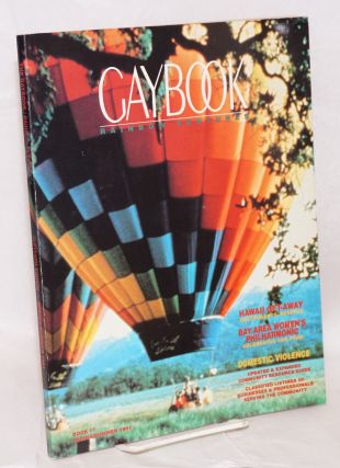 Gaybook: book 11, Rainbow Ventures [aka Gay Book] eleventh edition, Spring/Summer 1991