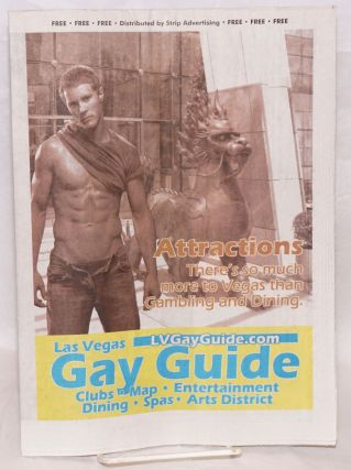 Las Vegas Gay Guide: clubs, map, entertainment, dining, spas, arts district; November 2010