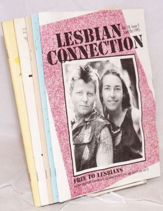 Lesbian Connection: for, by & about lesbians; vol. 18, issues 1-6, July/August 1995 - May/June 1996 [complete run of six issues]