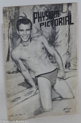 Physique Pictorial vol. 13, #2, October 1963. Bob Mizer, Tom of Finland photographer