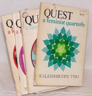 Quest: a feminist quarterly; vol. 4 no. 1 - 4, Summer, 1977 - Fall 1978 [four issue run