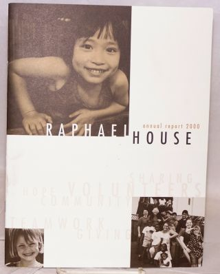 Raphael House annual report 2000