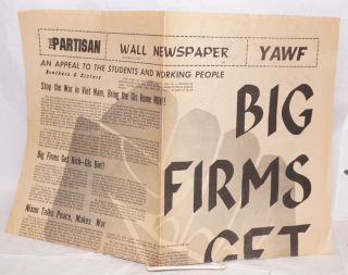 The Partisan: Wall Newspaper no. 5 (Nov. 13, 1969
