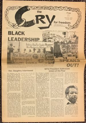 "Cry for freedom. ""The newspaper of poor and working people."" Vol. 1 no. 1 (Dec. 1978/Jan. 1979)"