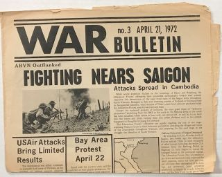 War Bulletin, no. 3 (April 21, 1972