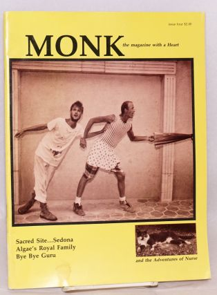 Monk: issue #4, 1987. The Monks, Michael Lane, Jim Crotty
