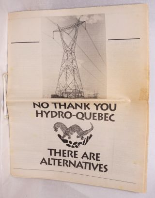No Thank You Hydro-Quebec. There are alternatives