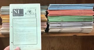NI Bulletin [108 issues, with additional materials]