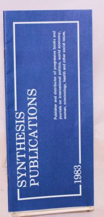 Synthesis Publications [catalog of publications