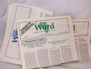 Word: news from an African American perspective [five issues