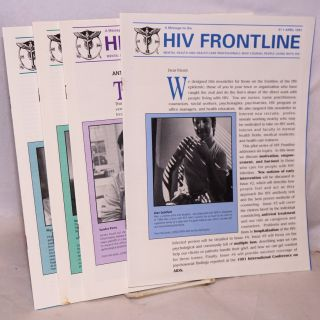 HIV Frontline: a message to the mental health and health-care professionals who counsel people...