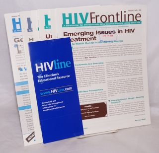 HIV Frontline: a newsletter for professionals who counsel people living with HIV; Issues 32-37,...