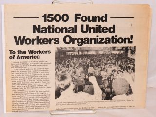 1500 found National United Workers Organization