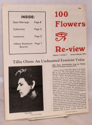 100 Flowers Re-view vol. 1, #2, January-February 1975