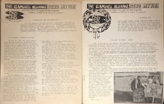 News Letter [two issues]. Clamshell Alliance.