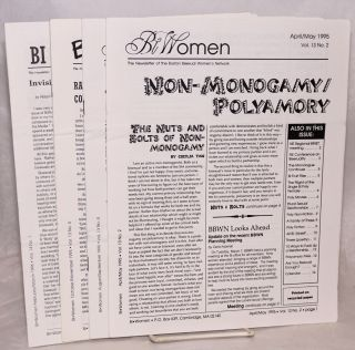 BiWomen: the newsletter of the Boston Bisexual Women's Network [5 issue broken run