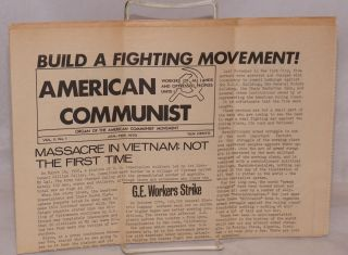American Communist. Organ of the American Communist Movement. Vol. II no. 1 (Jan-Feb. 1970