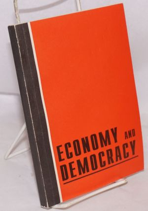 "Economy and Democracy; ""Third Course"" sientific [sic] socio-political series. A. Buzgalin"