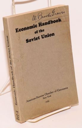 Economic Handbook of the Soviet Union. American-Russian Chamber Of Commerce